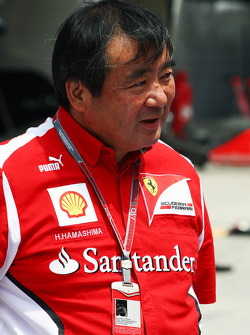 Hirohide Hamashima, Scuderia Ferrari Tyre Engineer