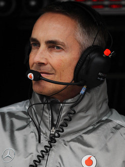 Martin Whitmarsh, McLaren Mercedes Chief Executive Officer