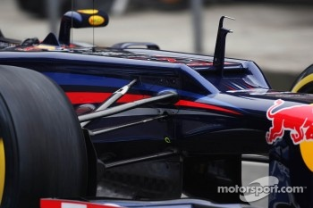 Red Bull Racing ridge on nosecone