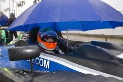 #52 PR1 Mathiasen Motorsports Oreca FLM09: Butch Leitzinger, Rudy Junco