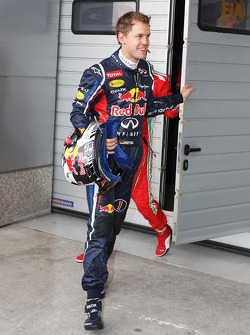 Sebastian Vettel, Red Bull Racing qualified in eleventh position