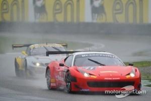 #71 Kessel Racing Ferrari 458 Italia: Stefano Gattuso, Daniel Zampieri, Davide Rigon
