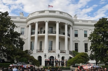 President Barack Obama honors the top 10 NASCAR drivers from 2011