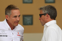 Martin Whitmarsh, McLaren Mercedes Chief Executive Officer (Left)
