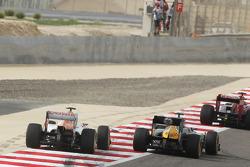Vitaly Petrov, Caterham and Nico Hulkenberg, Sahara Force India F1