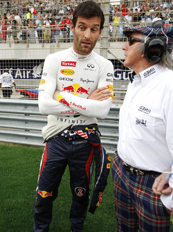 Mark Webber, Red Bull Racing and Jackie Stewart