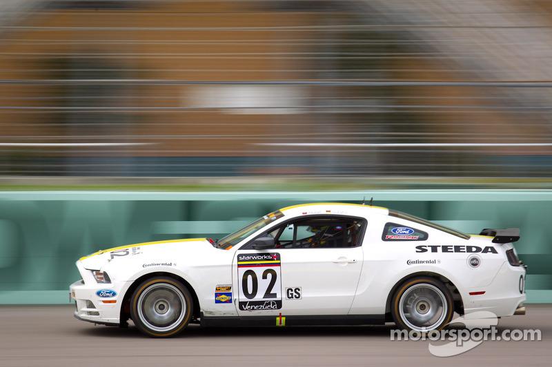 #02 Starworks Motorsport Mustang Boss 302R: Lucas Luhr, Alex Popow