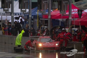 Pit stop for #99 GAINSCO/Bob Stallings Racing Chevrolet Corvette DP: Jon Fogarty, Alex Gurney