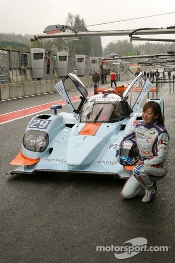 Keiko Ihara, #29 Gulf Racing Middle East Lola B12/80 Coupé-Nissan