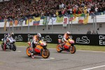 Start: Casey Stoner and Dani Pedrosa, Repsol Honda Team