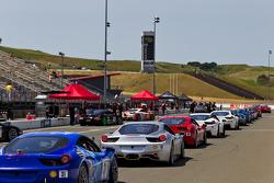 Ferrari Challenge Race #2 Grid