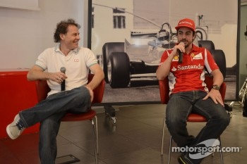 Press conference: Jacques Villeneuve and Fernando Alonso