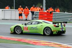 WEC: #57 Krohn Racing Ferrari 458 Italia: Tracy Krohn, Nic Jonsson, Michele Rugolo