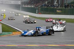 Pace lap, #25 ADR-Delta Oreca 03 Nissan: John Martin, Robbie Kerr, Tor Graves