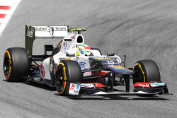 Sergio Perez, Sauber