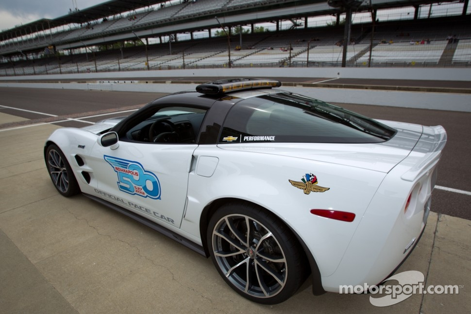 Chevrolet Corvette pace car for the 2012 Indy 500