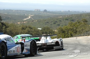 #6 Muscle Milk Pickett Racing HPD ARX-03a: Lucus Luhr, Klaus Graf #16 Dyson Racing Team Inc. Lola B12/60: Chris Dyson, Guy Smith, Johnny Mowlem