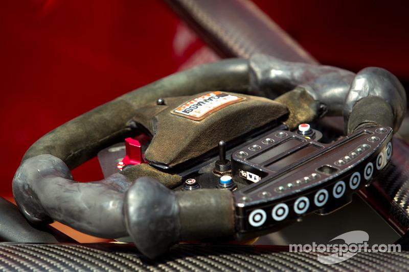 Steering wheel of Scott Dixon, Target Chip Ganassi Racing Honda