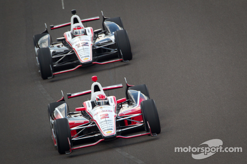 Ryan Briscoe, Team Penske Chevrolet, Will Power, Verizon Team Penske Chevrolet