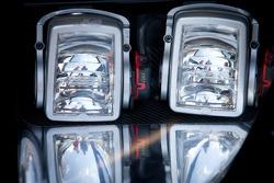 #777 H & R Spezialfedern Ford GT headlights detail