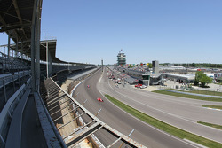 View from corner one grandstands