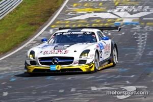 #22 ROWE Racing Mercedes-Benz SLS AMG GT3: Klaus Graf, Thomas Jäger, Alexander Roloff, Jan Seyffahrt