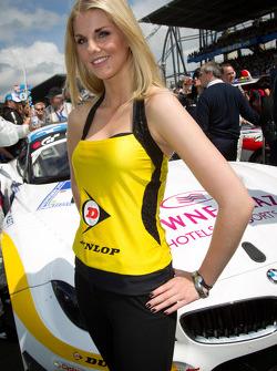 A Dunlop girl