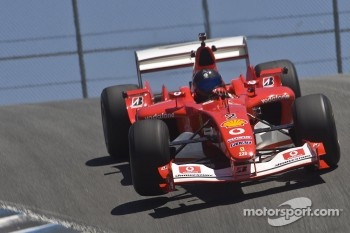 Bud Moeller in his Ferrari F2003-GA during Ferrari Racing Days