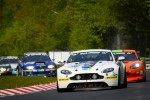 #60 Aston Martin Vantage GT4: Vic Rice, Shane Lewis, Karl Pflanz, Kim Hauschild