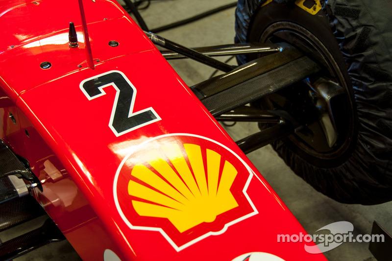 Ferrari F2003-GA Nose Detail