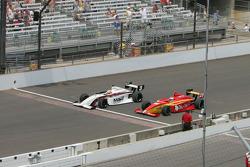 Victor Carbone, Sam Schmidt Motorsports and Carlos Munoz, Andretti Autosport