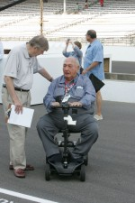 Andy Granatelli and Donald Davidson