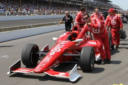 The car of Scott Dixon, Target Chip Ganassi Racing Honda
