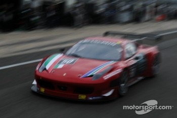 #50 AF Corse Ferrari 458 Italia: Jack Gerber, Raffaele Giammaria