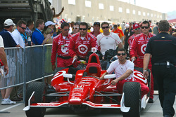 Dario Franchitti's car