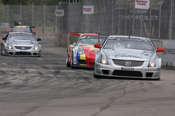 Johnny O'Connell, Cadillac CTS-V.R Lawson Aschenbach, Porsche 911 GT3 Cup Andy Pilgrim, Cadillac CTS-V.R