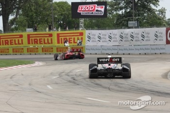 Scott Dixon, Target Chip Ganassi Honda, Will Power, Team Penske Chevrolet