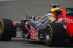 Sebastian Vettel, Red Bull Racing running sensor equipment