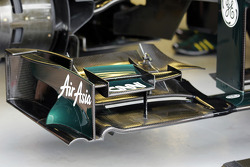 Caterham front wing detail