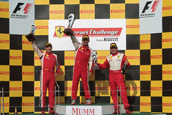 Damon Ockey Ferrari of Ontario 458CS, Darren Crystal Ferrari of Houston 458CS,