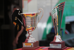 first place trophies from the first race of the week-end