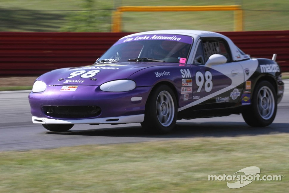 #98 SM Mazda Miata Charlie Campbell SCCA Mohawk Hudson Region