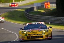 #50 Larbre Competition Chevrolet Corvette C6 ZR1: Patrick Bornhauser, Julien Canal, Pedro Lamy
