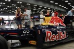 Red Bull F1 car on display