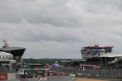 View to the Startgrid