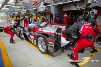 #3 Audi Sport Team Joest Audi R18 Ultra: Marc Gene, Romain Dumas, Loic Duval heads back to track
