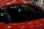 Driver's names and cockpit view ofhe 458 Italia GRAND-AM, owned by Risi Competizione in partnership with Godstone Ranch Motorsports