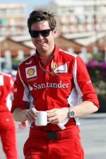 Rob Smedley, Scuderia Ferrari Race Engineer