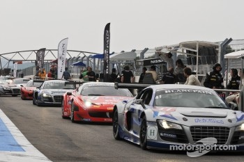 #41 Sainteloc Racing Audi R8 LMS: Philippe Marie, Robert Hissom, Pierre Hirschi