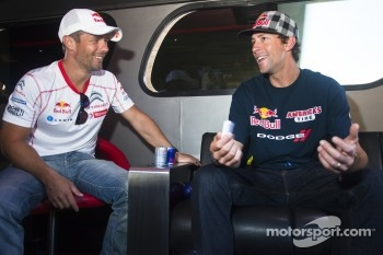 Sbastien Loeb and Travis Pastrana